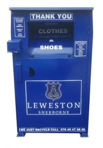 Clothes recycling bank near me