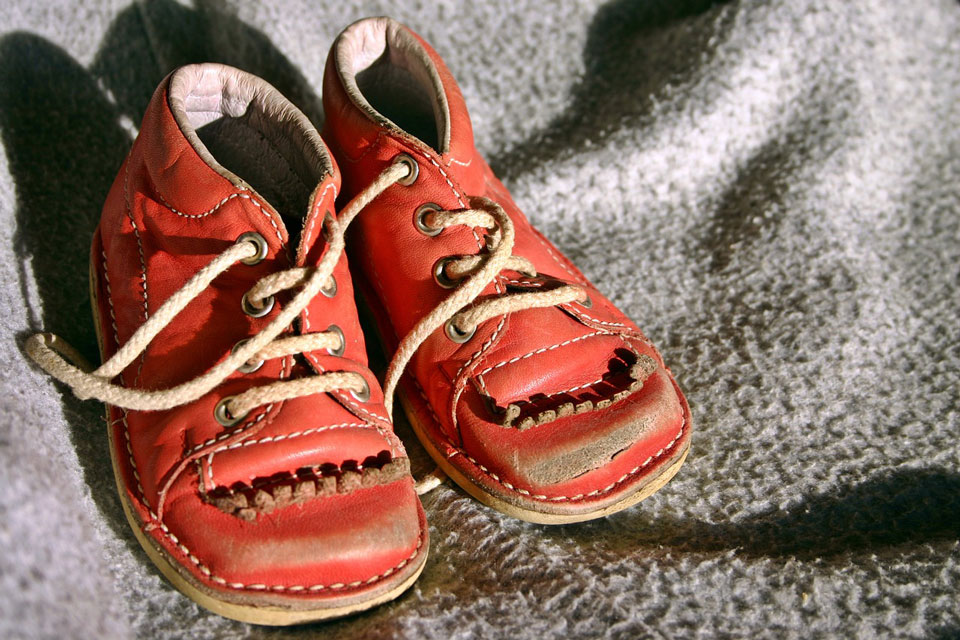 recycle childrens shoes