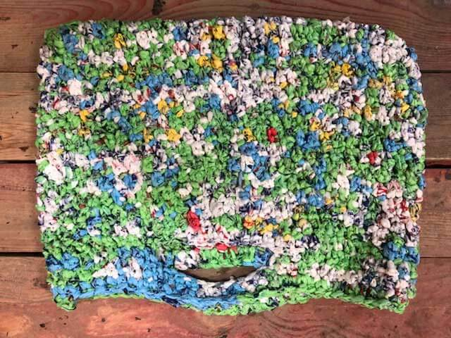 amazing mats made from old plastic bags